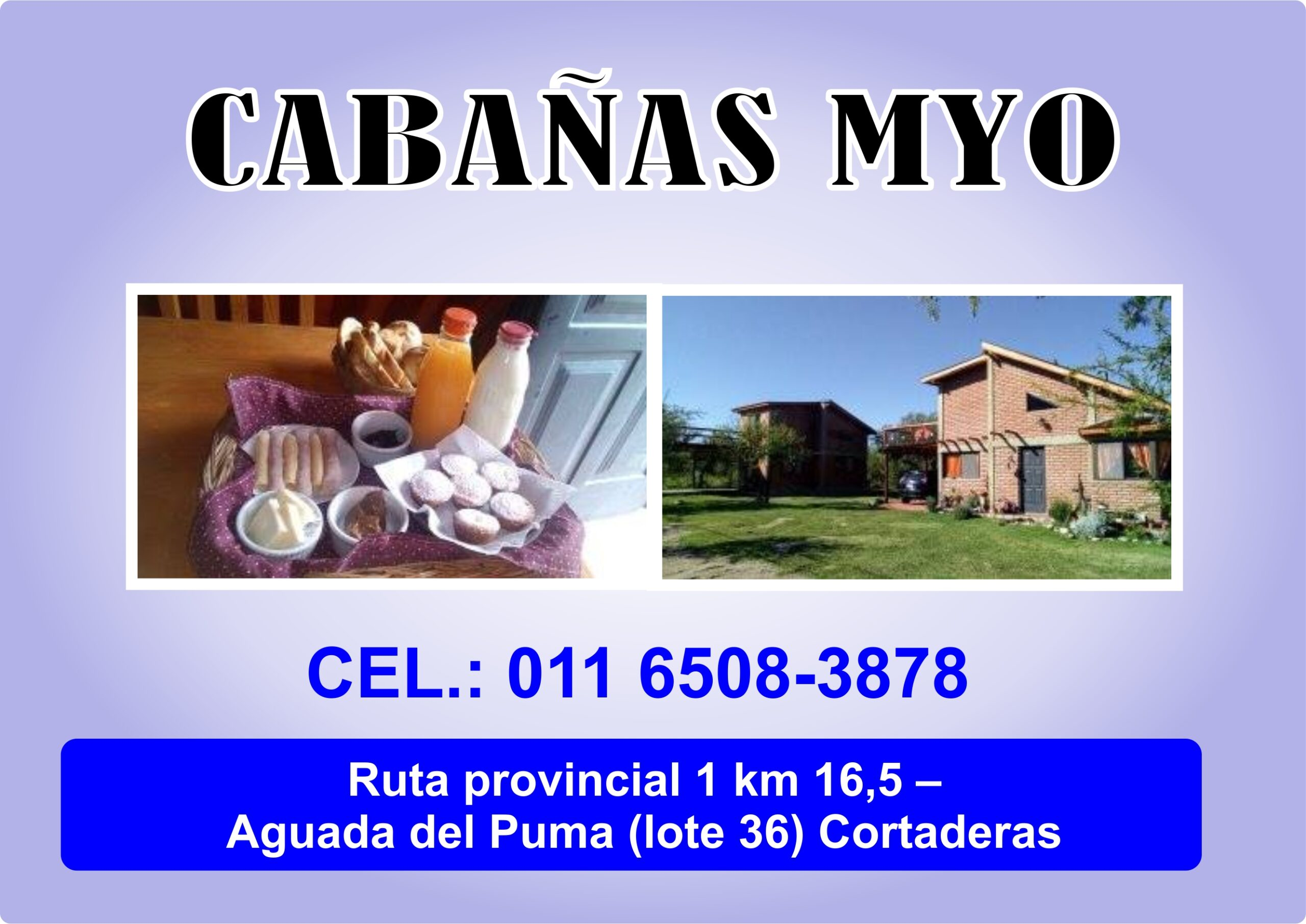 Cabañas MyO