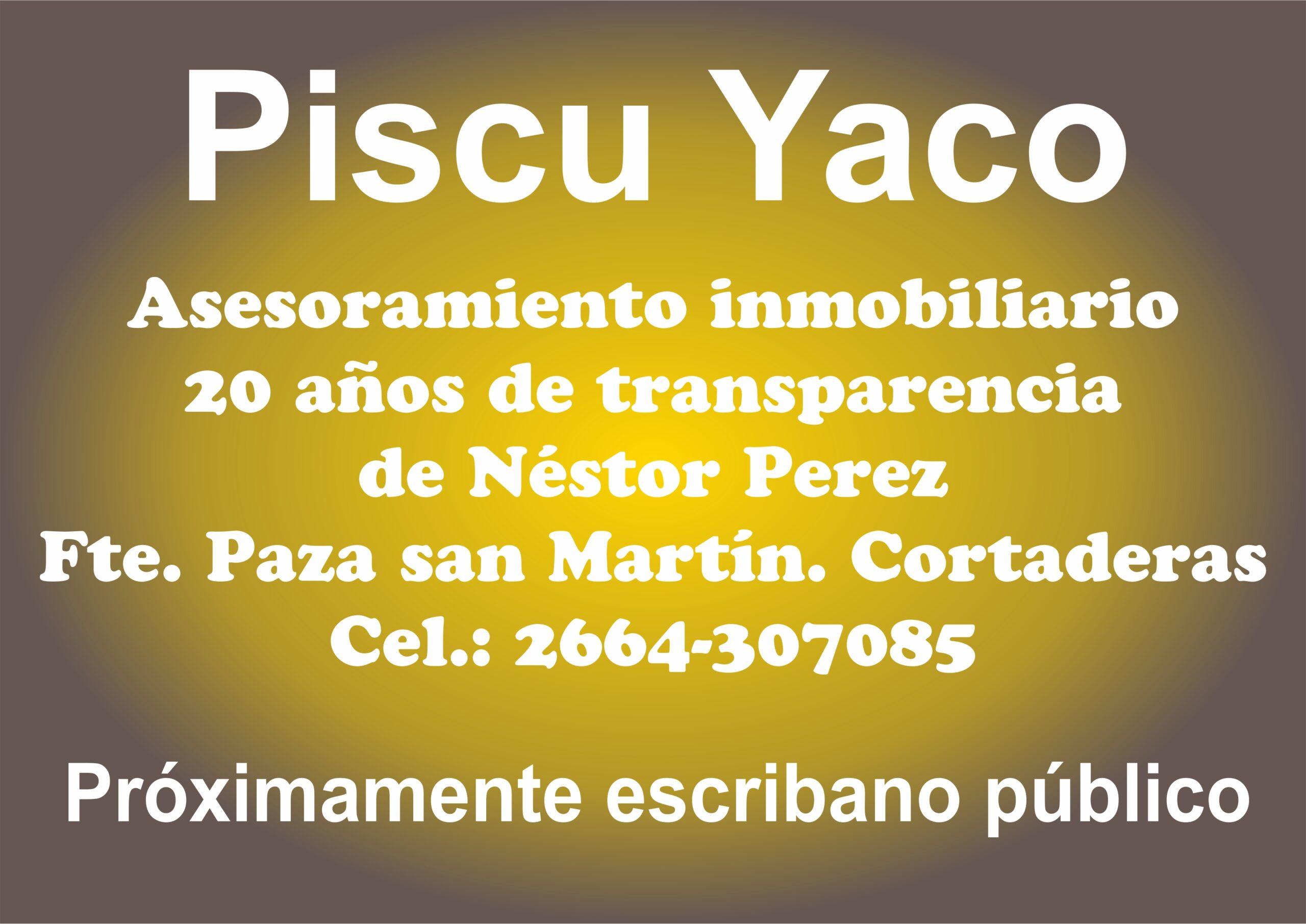 Piscu Yaco