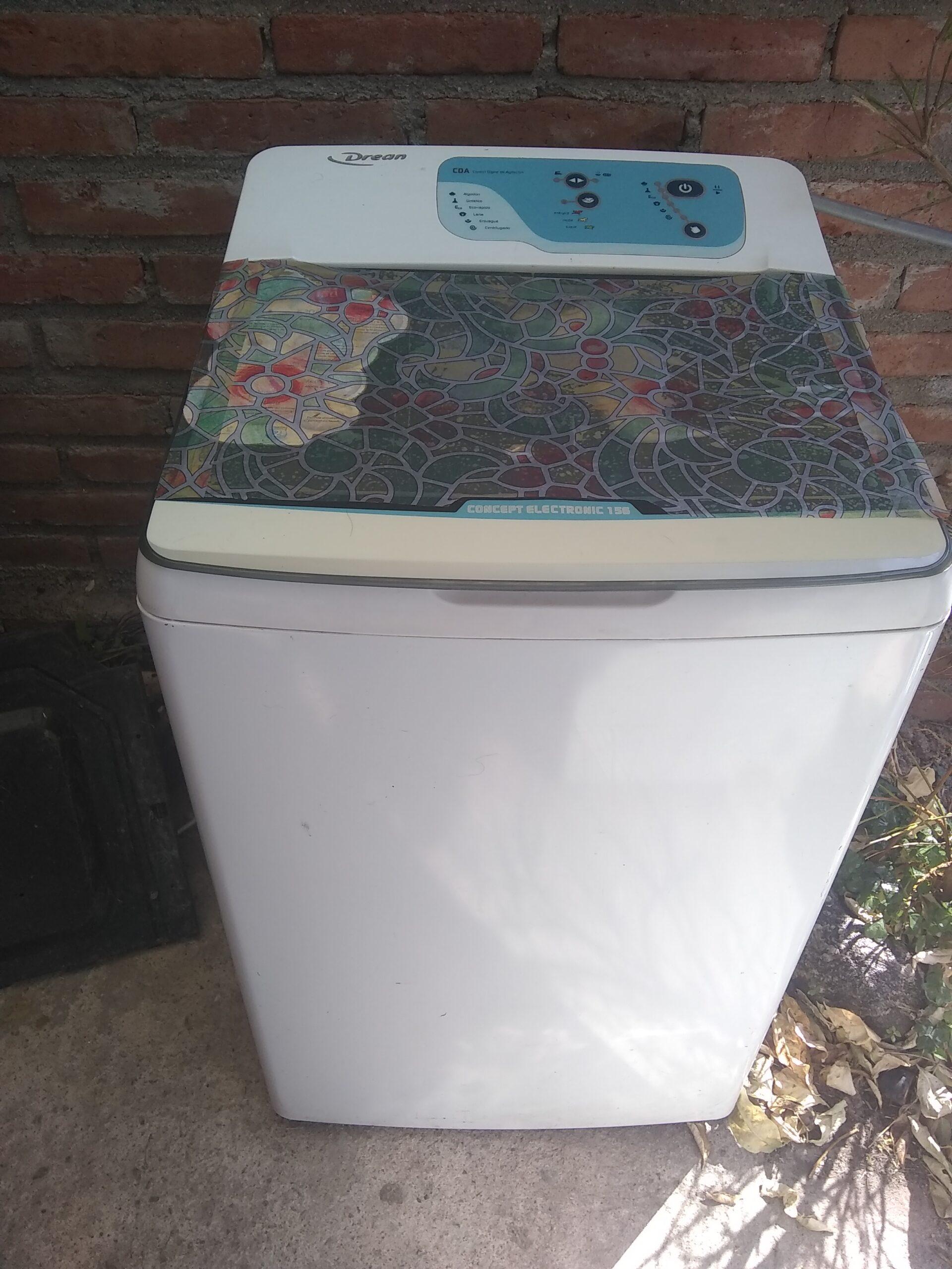 Vendo lavarropas automático Drean Electrónic 156